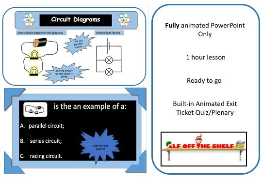 Electricity - Circuits and Symbols KS3 - Animated PowerPoint