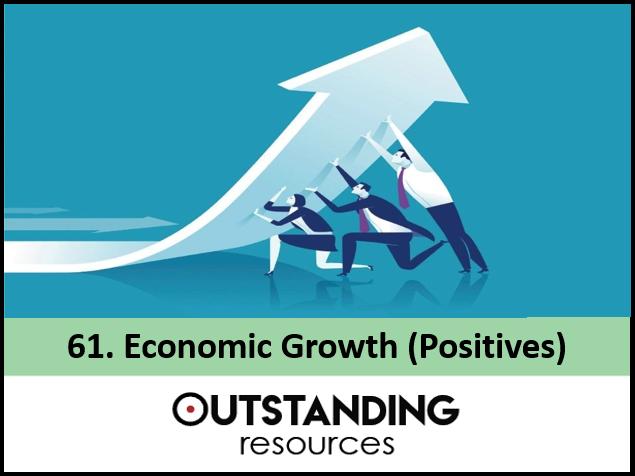 Economics: Lesson 61 - Economic Growth (Positive Aspects)
