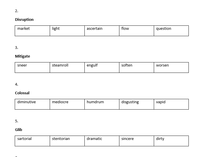 Synonyms and Antonyms - FREE SAMPLE - 11 Plus