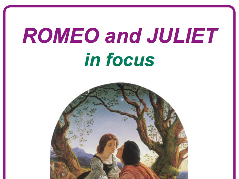 Romeo and Juliet in Focus Poster and Worksheet Pack KS3