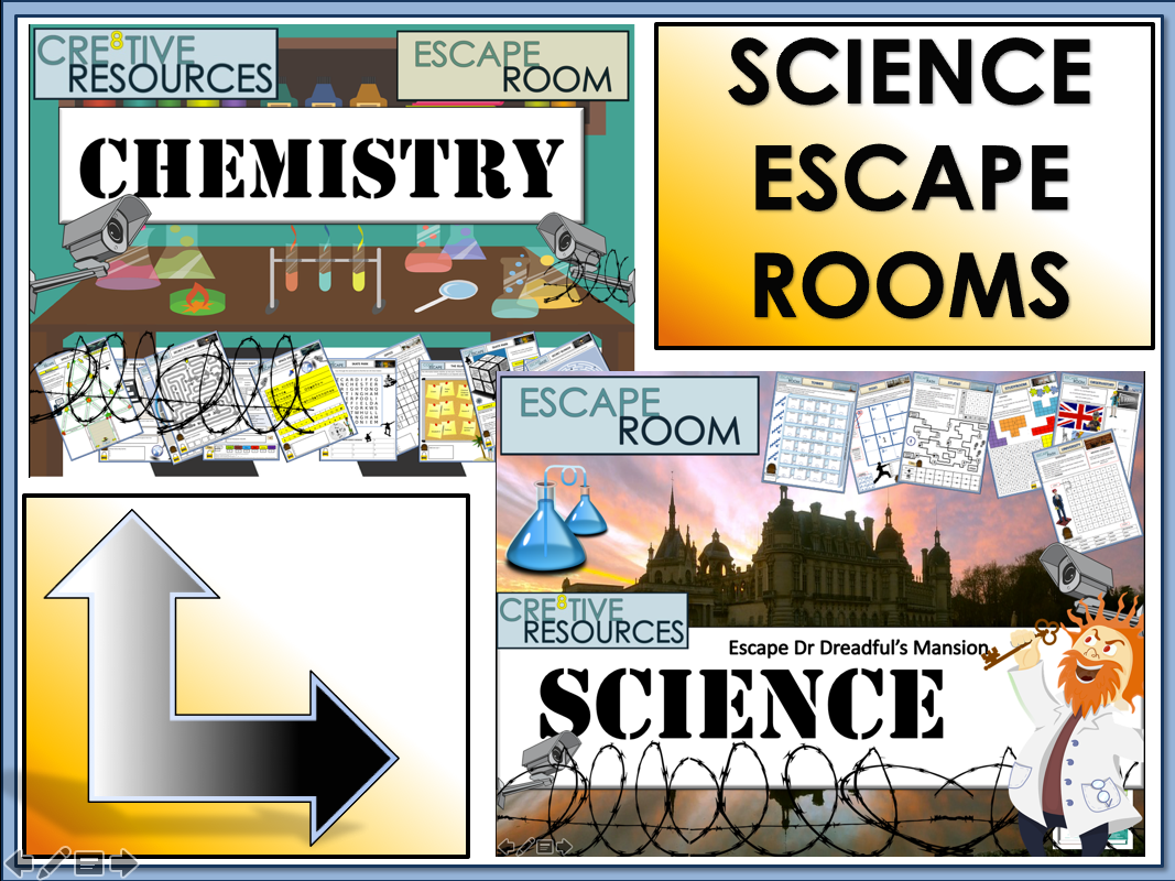 Chemistry Science Escape Rooms - Back to School
