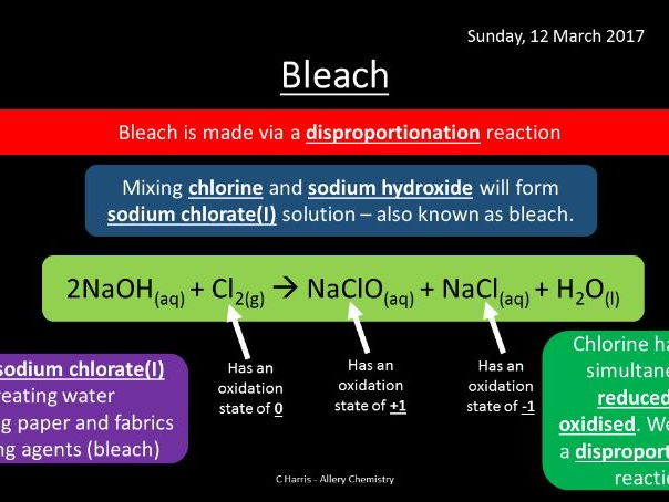 NEW Edexcel Topic 4 Inorganic Chemistry and the Periodic Table Revision