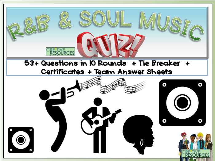 RnB and Soul Music Quiz