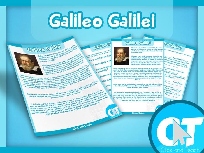 Galileo Galilei Activity