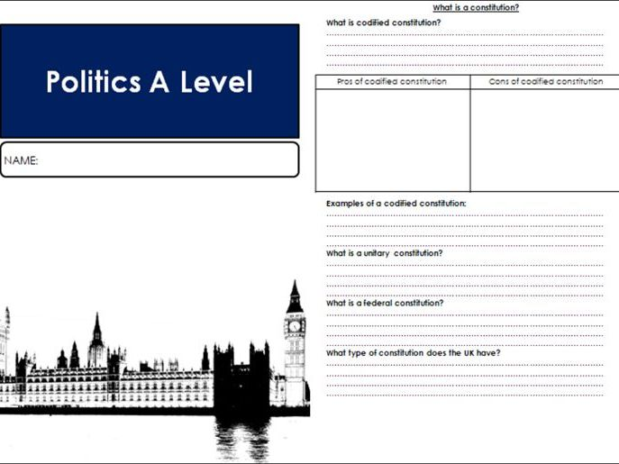 Edexcel Government and Politics: Governing the UK