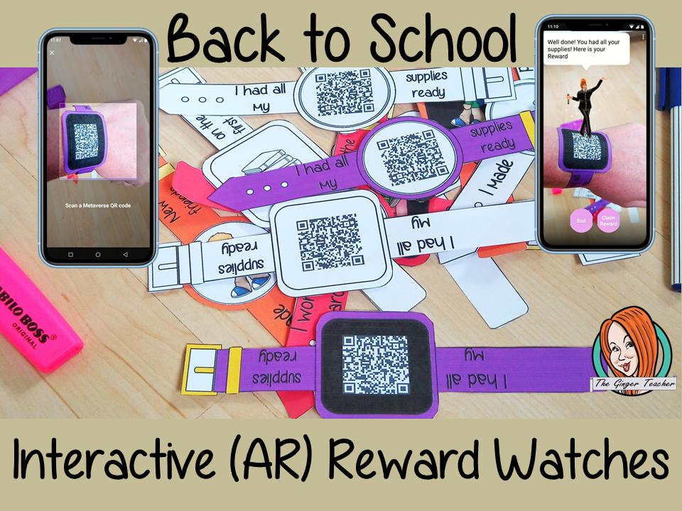 Back to School Reward Watches