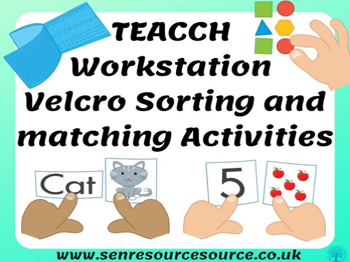 HUGE Bundle of Independent Workstation Velcro Activities