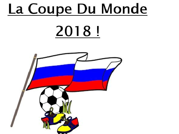 La Coupe du Monde - Football World Cup Booklet (French)