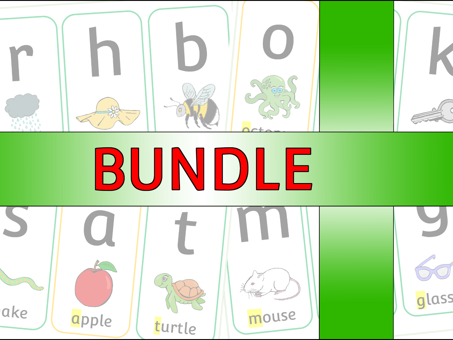Phase 2 Bundle - Phonics/Letters and Sounds Pack - EDITABLE