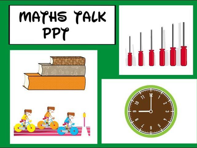 Maths Talk PPT KS1 and EYFS