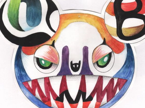 Japanese Art Murakami Character Design