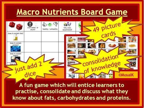 Macro Nutrients fats carbs proteins