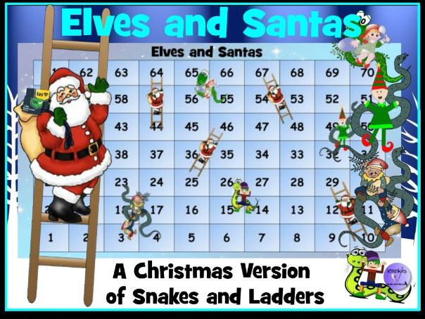 Christmas Maths Game: Elves and Santas