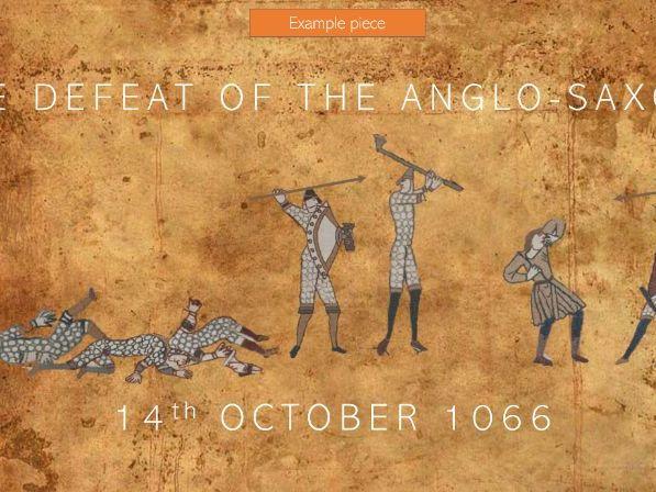 Battle of Hastings Digital Artwork