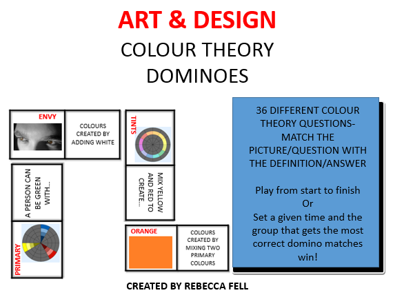 COLOUR THEORY Dominoes