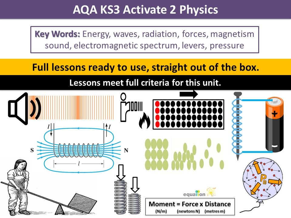 AQA KS3 Activate 2 Physics