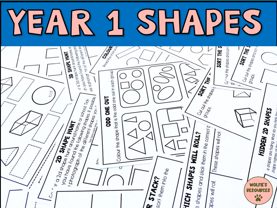 Shapes Year 1