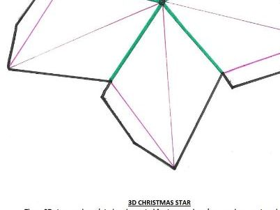 3D Christmas Star to make/ decorate, suitable KS1/2