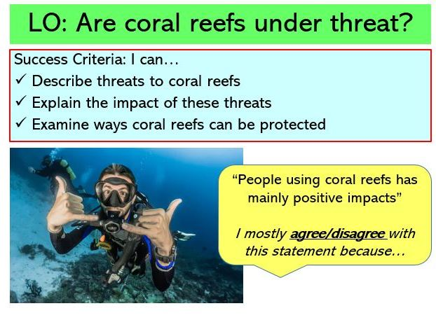 L3. Threats and the future of coral reefs