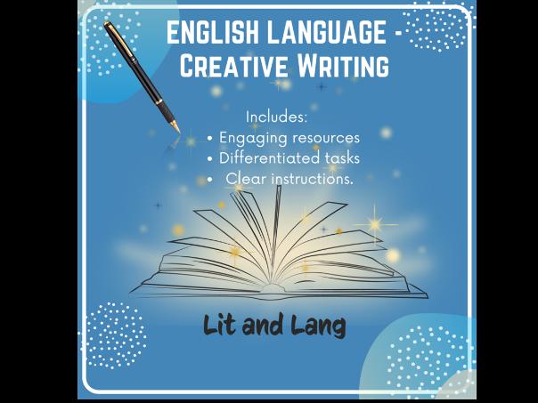English Language - Creative Writing (Homeschooling)