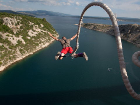Reading activities. Bungee jumping.