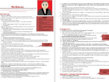 Mr Birling Grade 9 Character Revision/Study Guide (7 pages An Inspector Calls)
