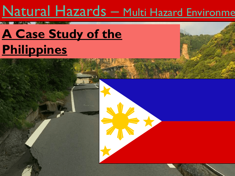 Geography - Key Stage 4 - Natural Hazards - Multiple Hazard Environment - Case Study (Ppoint Vers)