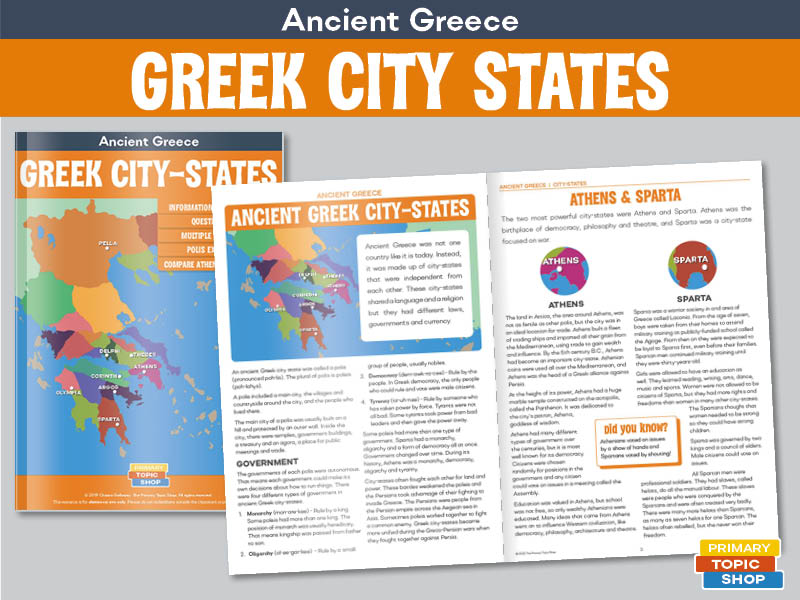 Ancient Greece - City-States
