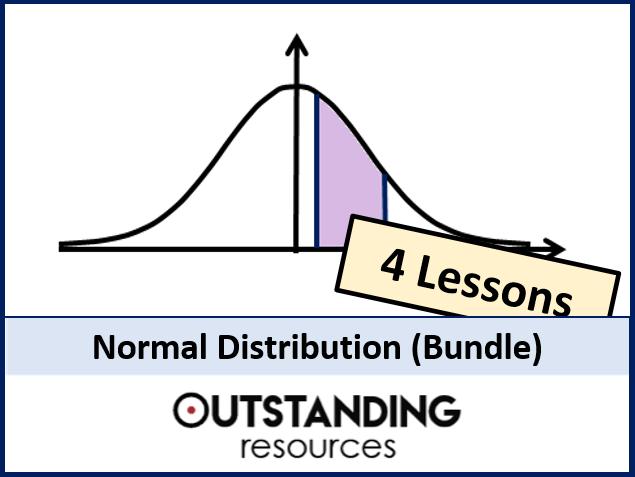 Normal Distribution BUNDLE (4 Lessons)