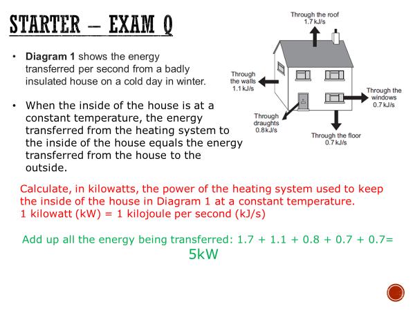 Energy dissipation - complete lesson (KS4)