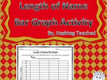 Length of Name Bar Graph Worksheet