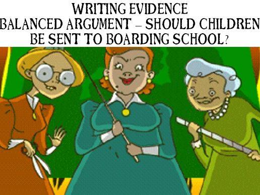 Year 6 Writing Evidence - Balanced Argument