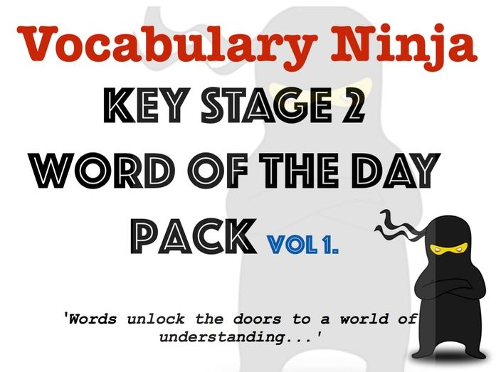 KS2 Word of the Day Pack