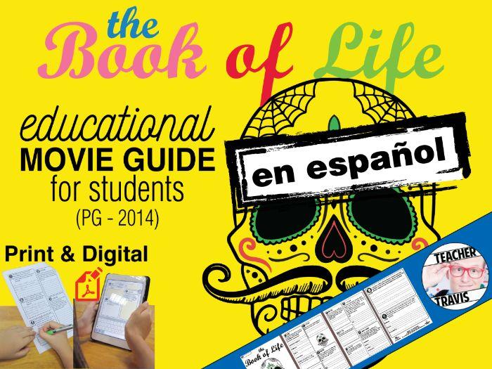 El Libro De La Vida Guía de película en Español / Book of Life Movie Guide