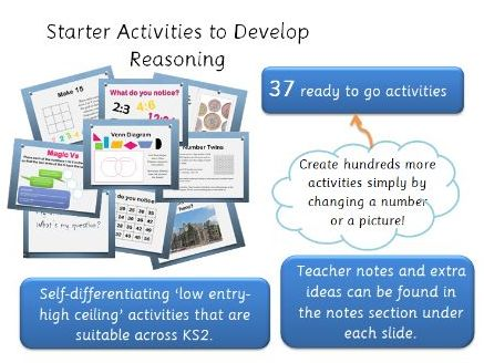 Maths Activities to Develop Reasoning - KS2