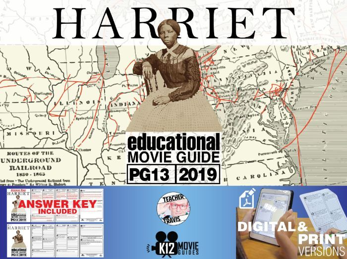 Harriet Movie Guide | Questions | Worksheet (PG13 - 2019)