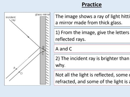 AQA GCSE Physics (4.6.1.3) Waves - Reflection of waves