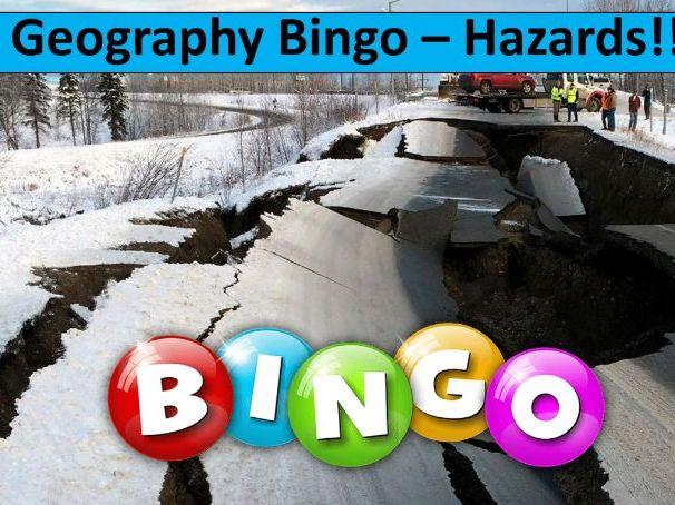 Geography Bingo Game