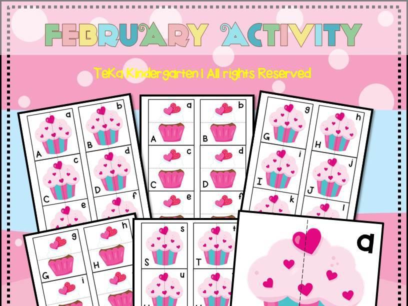 Cupcake Matching Games Cards Printable
