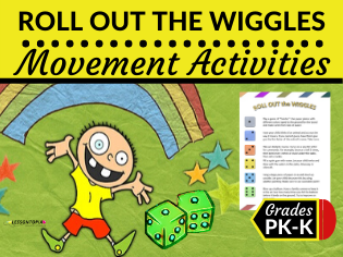 Roll Out the Wiggles-FREEBIE