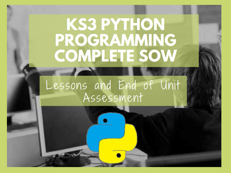 KS3 Python Programming Complete SoW