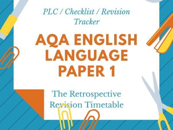 AQA English Language GCSE Revision 9-1
