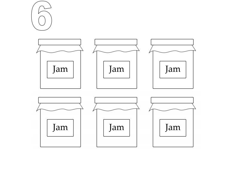 Learning Number 6 for Nursery and Reception Students