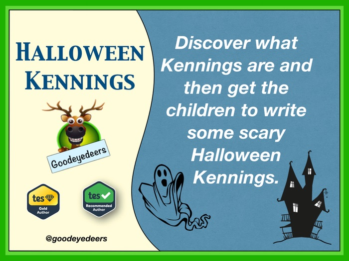Halloween Kennings - Writing Poetry In KS2