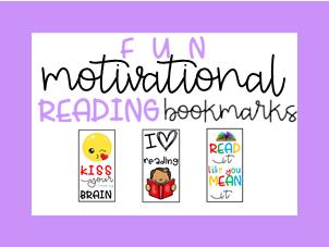 Motivational Reading Bookmarks
