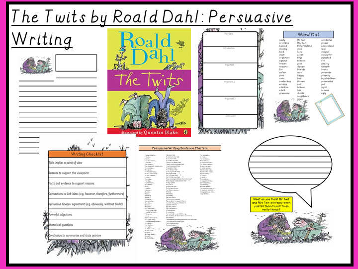 The Twits by Roald Dahl-Persuasive Writing