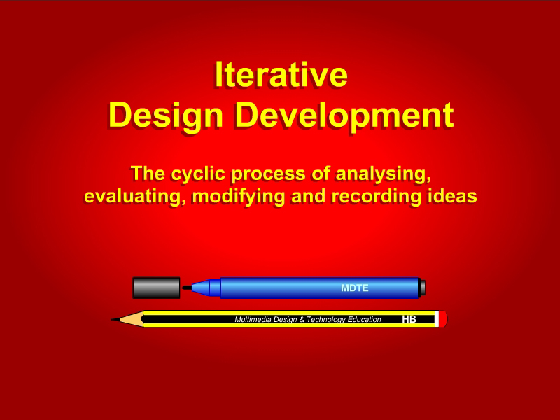 Iterative design development