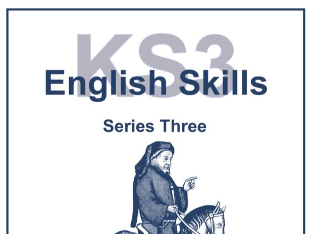 KS3 English Skills Series Three Resource Pack Sample Pages