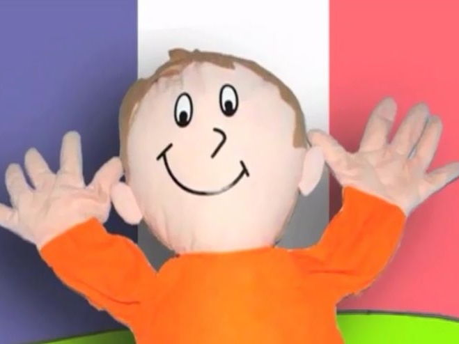 Bonjour Jimmy - French activities