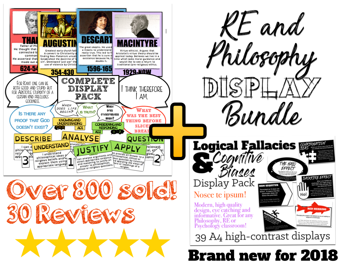 Comprehensive RE/Philosophy Classroom Display Bundle